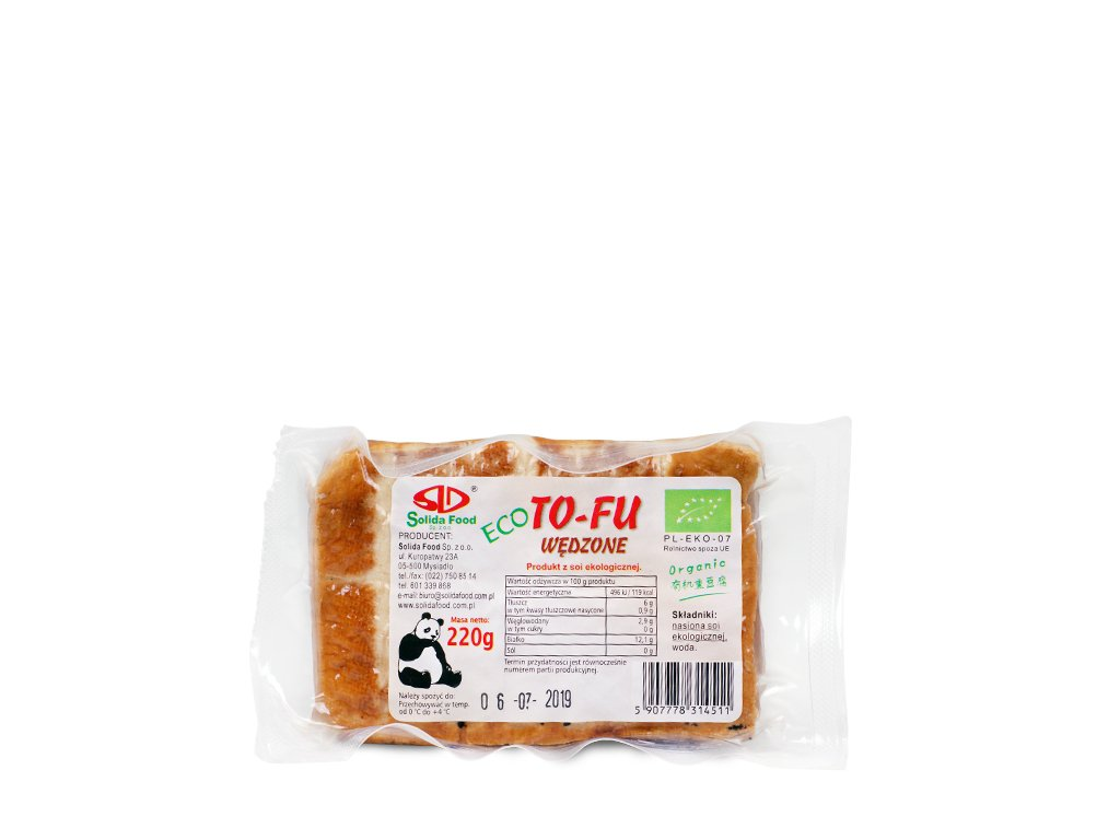 BIO Tofu wędzone 220g Solida Food