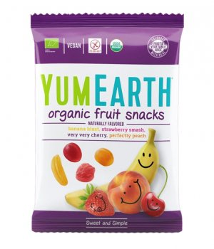 BIO Żelki owocowe fruit snacks 50g Yumearth