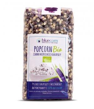 BIO Ziarna popcornu z nieb. kuk. 350g bluecorn