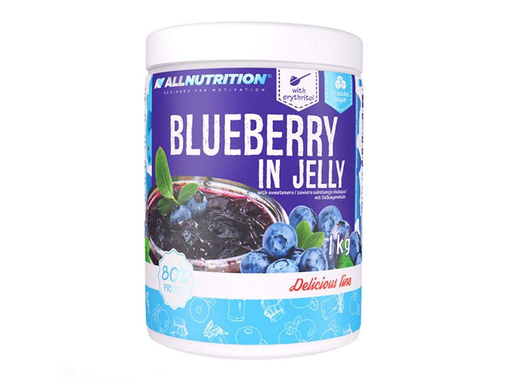 Dżem z kawałkami jagód blueberry 1kg Allnutrition