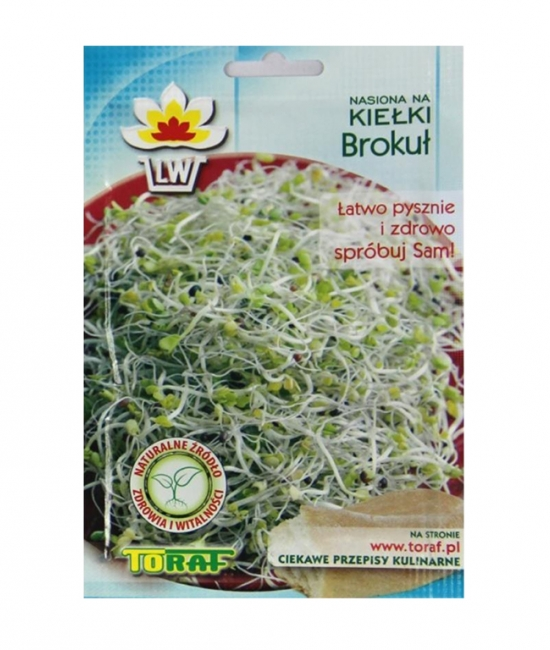 Brokuł nasiona na kiełki 10g TORAF