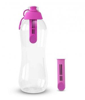 Butelka filtrująca 700ml różowa DAFI