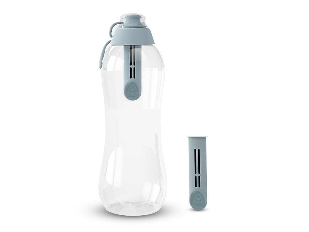 Butelka filtrująca 700ml stalowa DAFI
