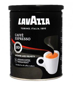 Kawa mielona Espresso puszka 250g Lavazza