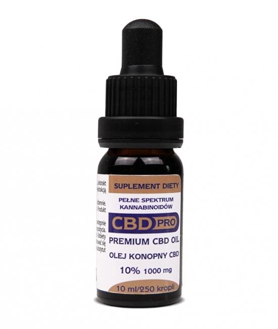 Olejek CBD Pro Premium 10% 10ml