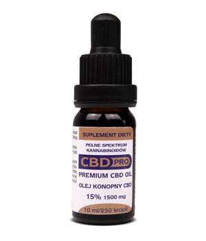 Olejek CBD Pro Premium 15% 10ml