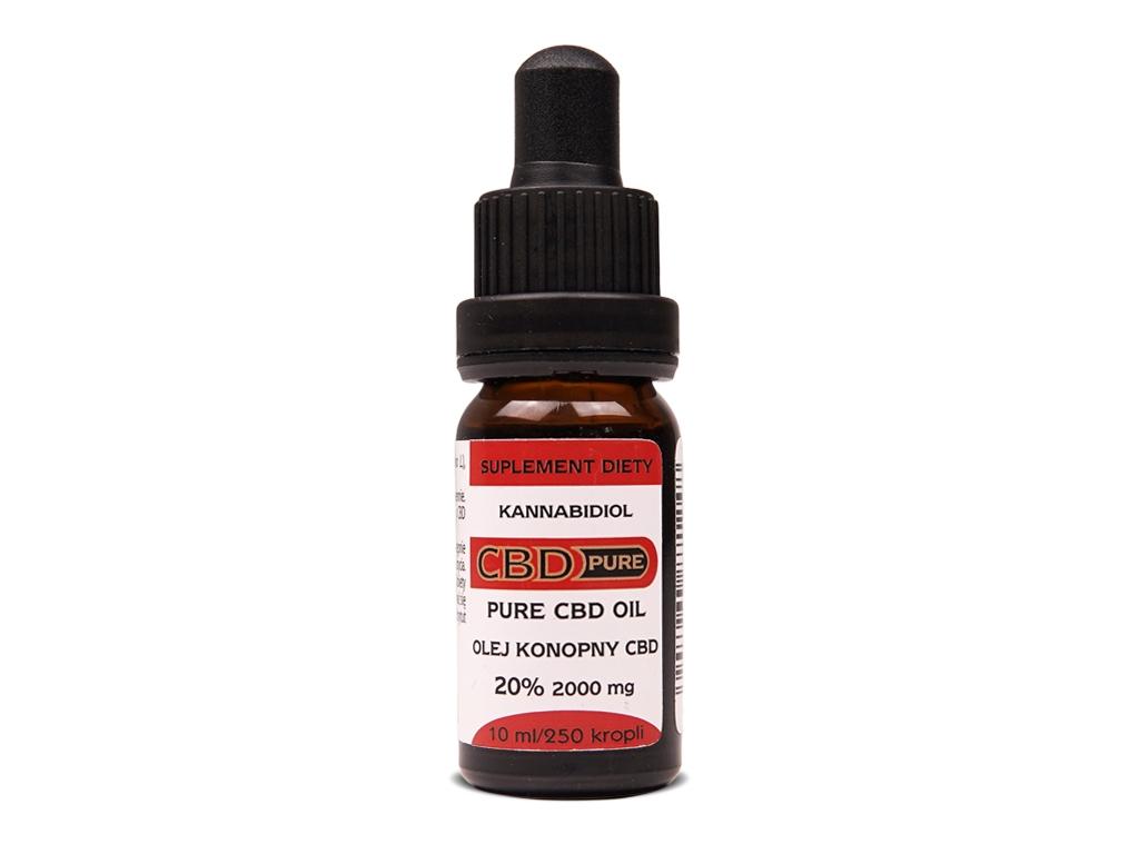 Olejek konopny CBD Pure 20% 10ml