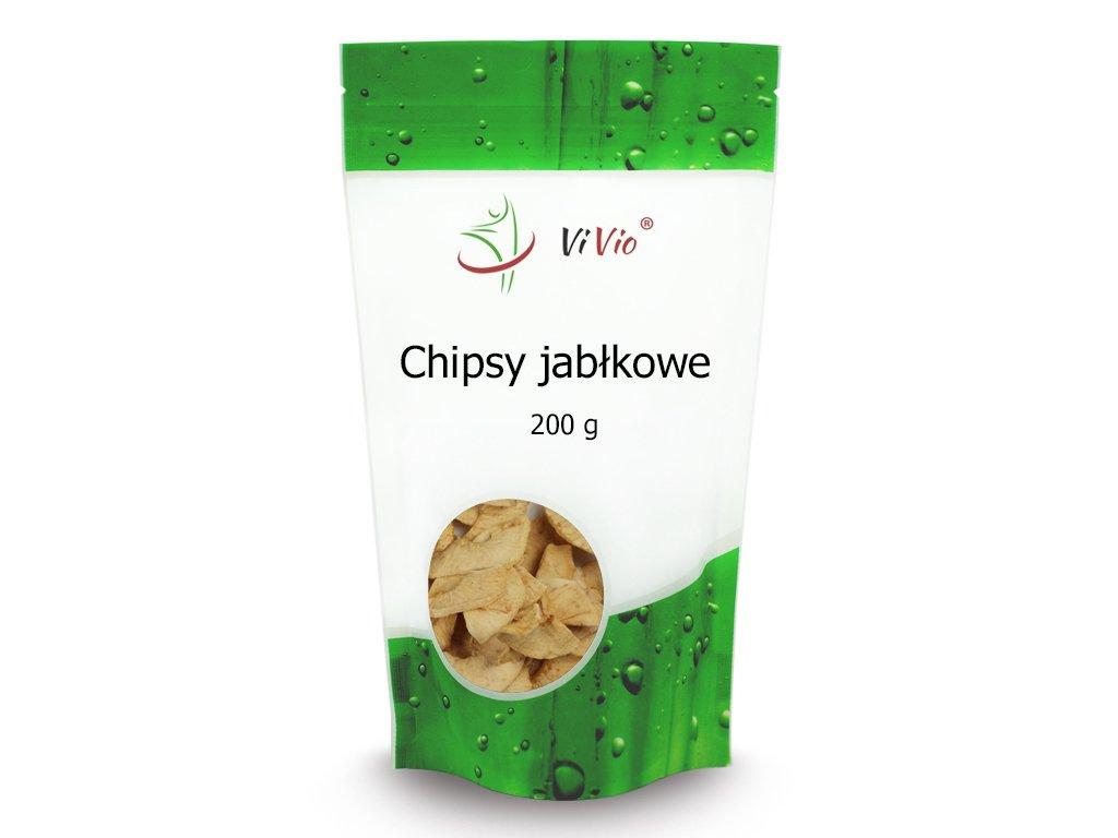 Chipsy Jabłkowe 200g, przekąska, kcal