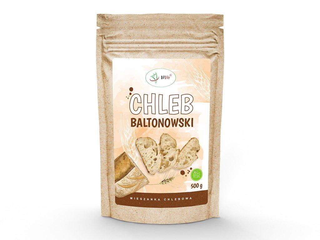 Chleb baltonowski - mieszanka chlebowa 500g VIVIO, cena, jak zrobić