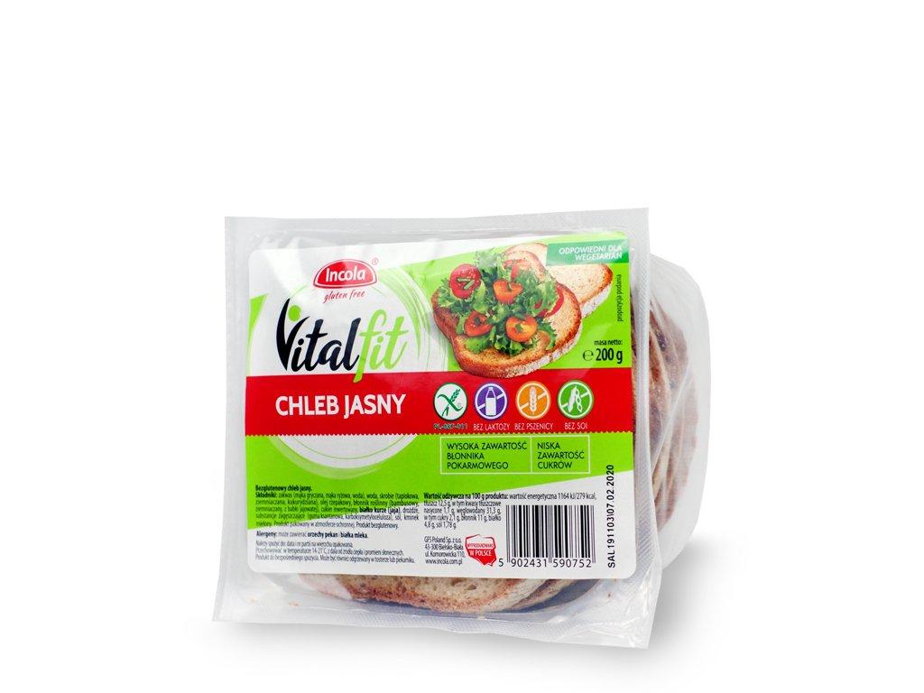 Chleb Jasny 200g