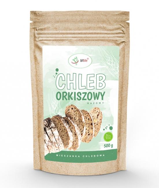 Chleb orkiszowy - mieszanka chlebowa 500g VIVIO, cena, przepis