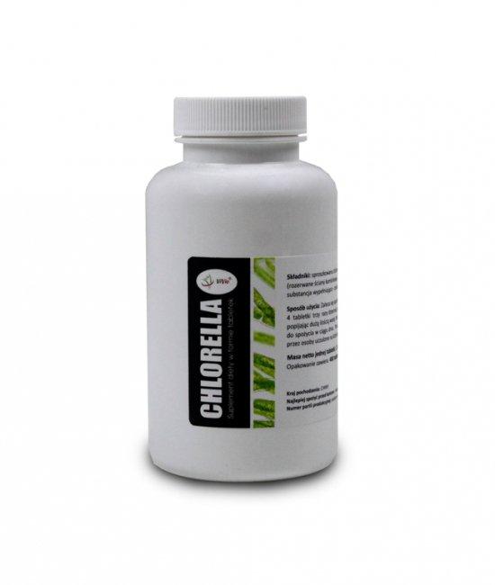 Chlorella tabletki na odchudzanie cena właściwości zastosowanie