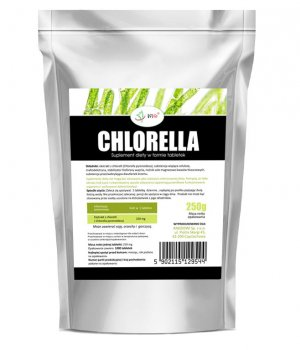 Chlorella 250mg - 1000 tabletek - 250g