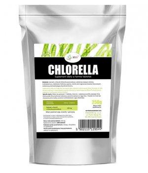 Chlorella 250mg - 1000 tabletek - 250g, właściwości, cena