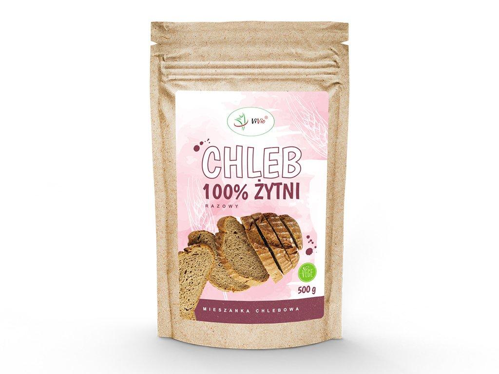 Chleb żytni - mieszanka chlebowa 500g VIVIO, cena, kcal