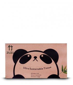 Chusteczki bambusowe 3-warstwowe 40 szt ZUZii