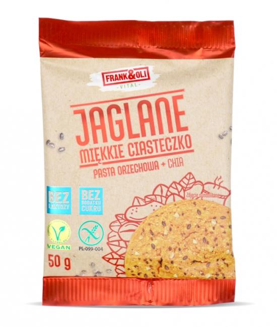 Ciasteczko jaglane+chia 50g Frank&Oli