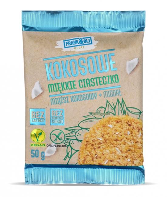 Ciasteczko kokosowe+migdał 50g Frank&Oli