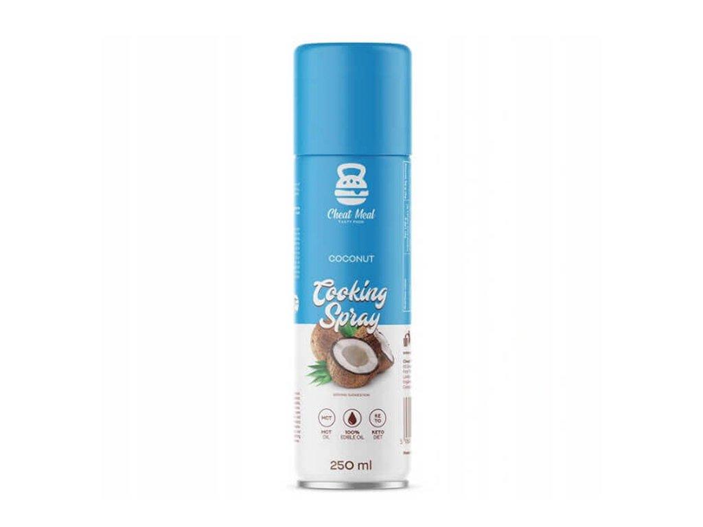 Masło spray do smażenia 250ml kokos - Cheat Meal