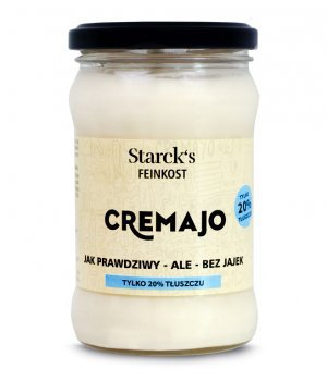 Majonez vege Cremajo 20% 270g Starck's