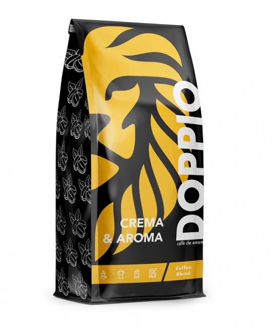 Kawa Crema & Aroma 1kg DOPPIO