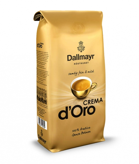 Kawa ziarnista Crema d'Oro 1kg Dallmayr
