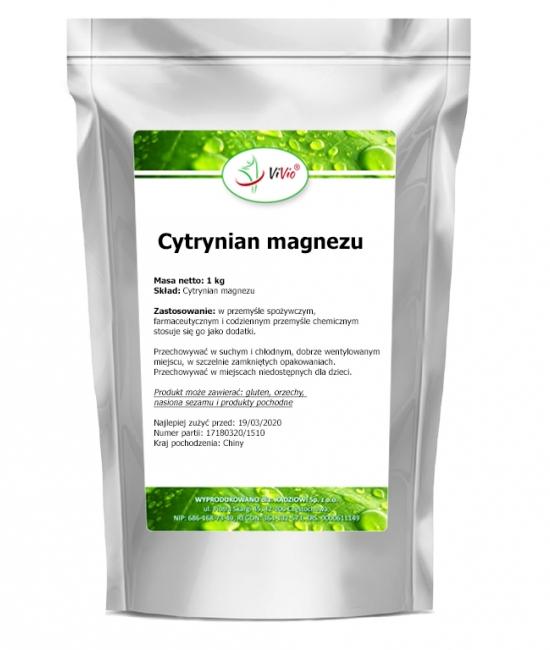 Cytrynian magnezu zastosowanie, właściwości, opinie