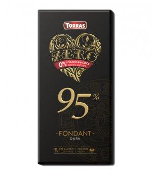 Czekolada gorzka 95% kakao bdc 100g Torras