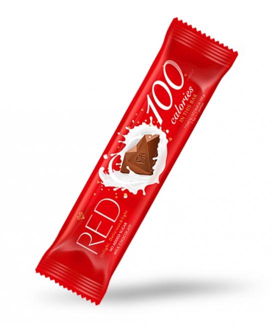 Czekolada mleczna BDC 26g RED