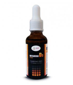 Witamina D3 - krople, witamina d3 w płynie, witamina d3 w kroplach 30ml
