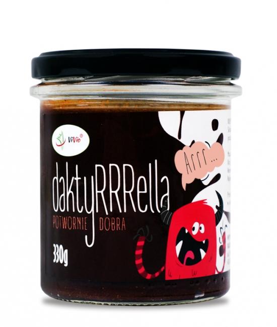 Daktyrella - krem z daktyli, krem daktylowy, bez cukru, dla dzieci