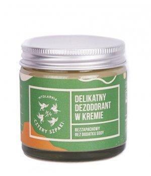 Delikatny dezodorant w kremie bezzapach. 60ml