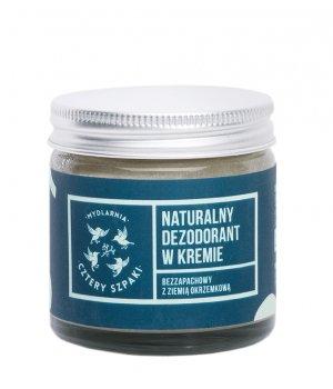 Naturalny dezodorant w kremie bezzapachowy 60ml