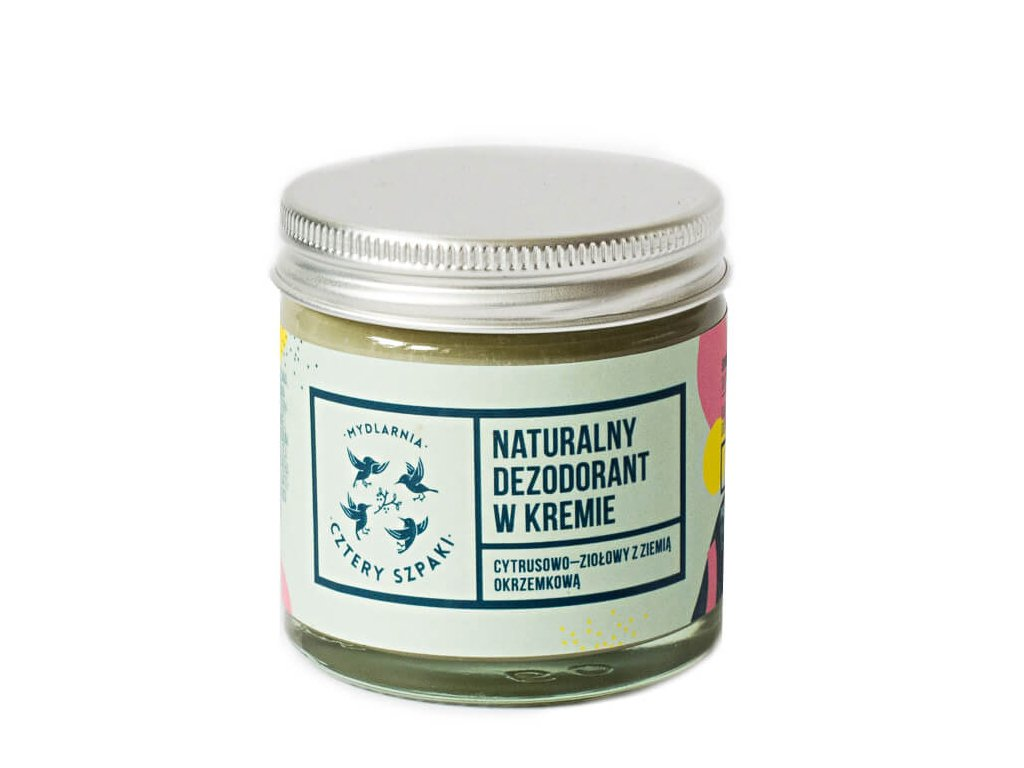 Dezodorant w kremie cytrusowo ziołowy 60ml