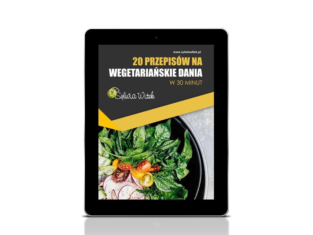 20 PRZEPISÓW NA WEGETARIAŃSKIE DANIA - EBOOK