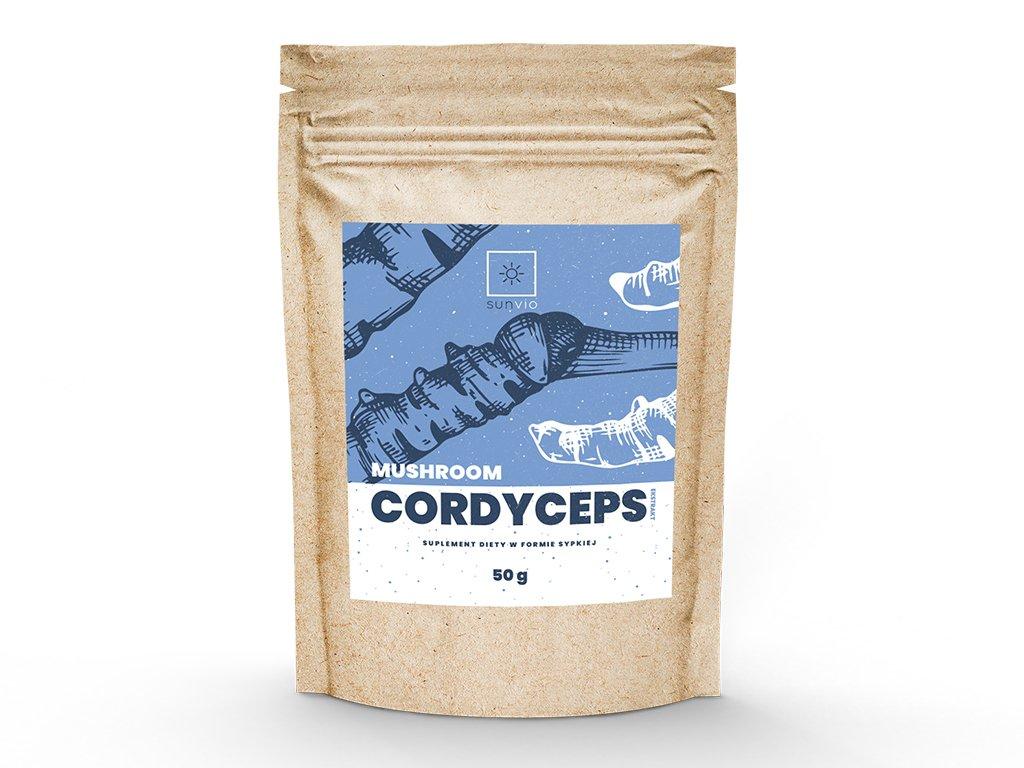Cordyceps (maczużnik) ekstrakt 10:1 50g