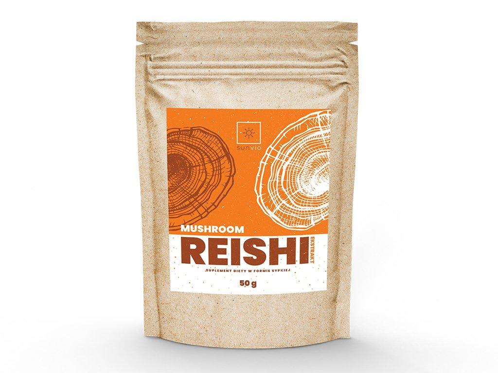 Reishi, grzybek, grzyby reishi 10:1 50 g