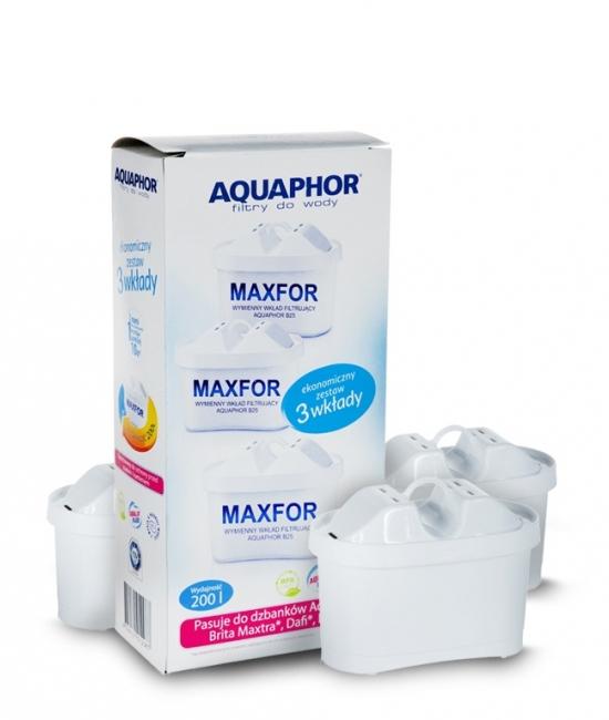 Filtr wkład do wody aguaphor B100-25 maxfor 3szt