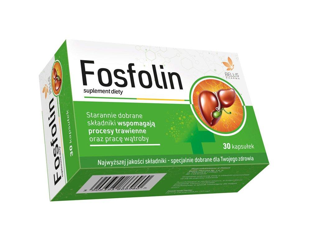 Fosfolin 30 kap. Na wątrobę BELLIS Suplement diety