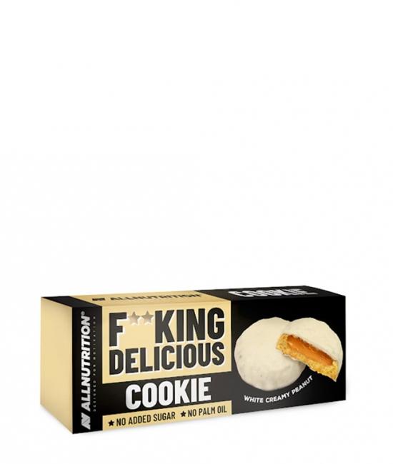 Ciasteczka z kremem orz.mlecz.polew. 128g Allnutri