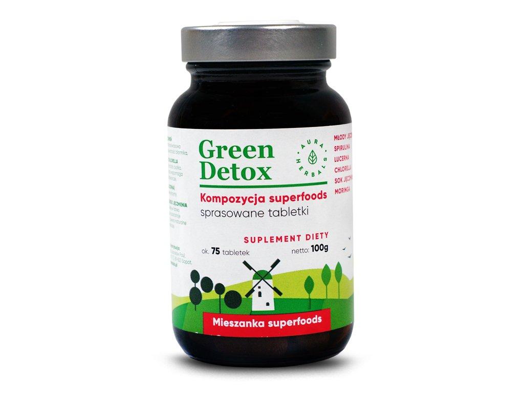 Green Detox 75 tab. Aura Herbals