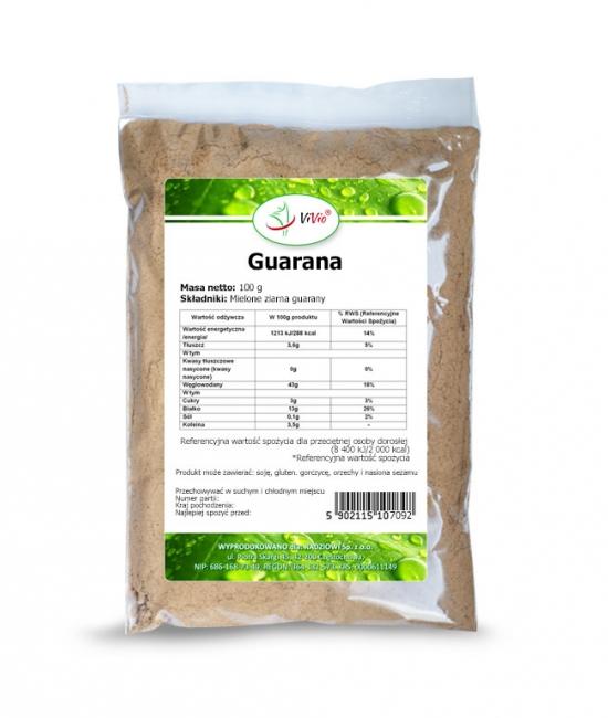 Guarana mielona 50g VIVIO