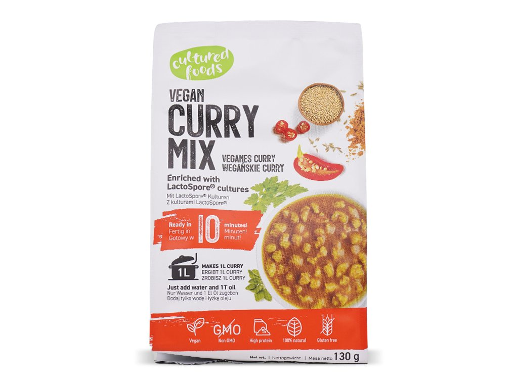 Gulasz wegański curry 130g Cultured Foods