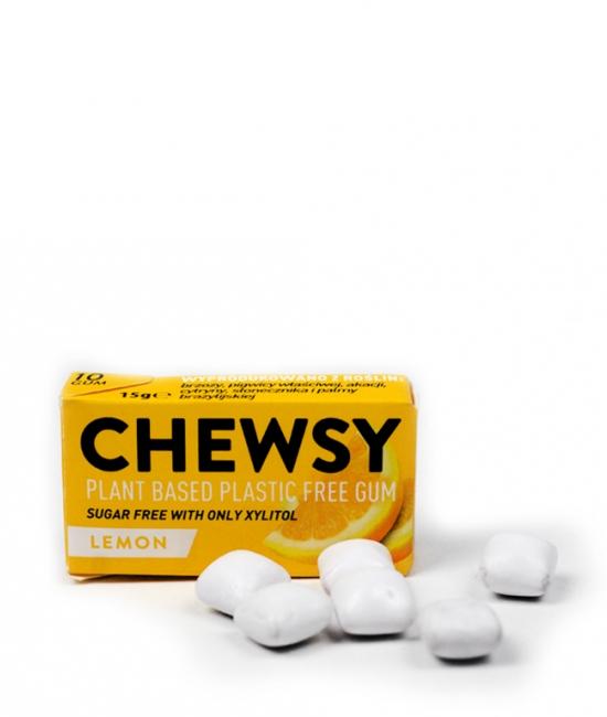 Guma do żucia cytrynowa 15g CHEWSY