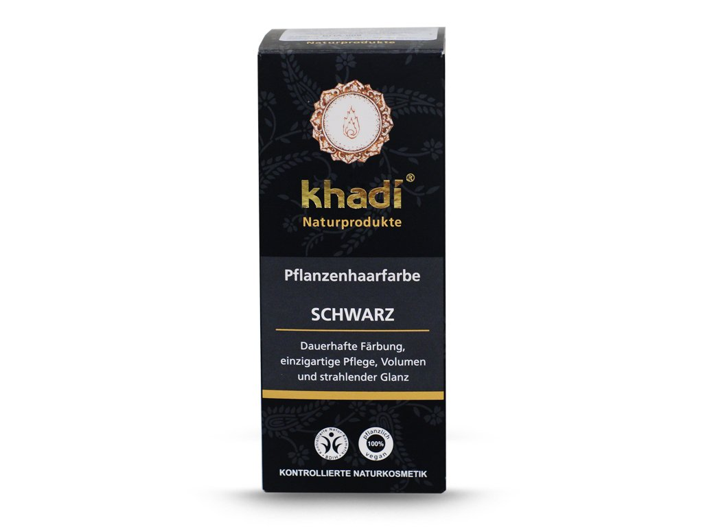 Henna Khadi Cassia - czarna 100g