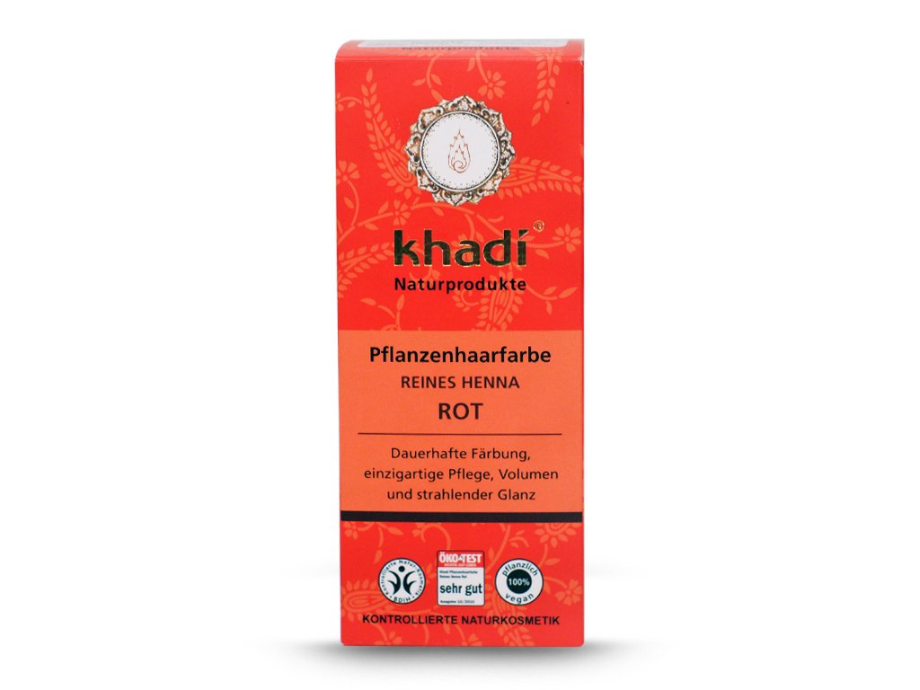 Henna Khadi Cassia - czerwona 100g
