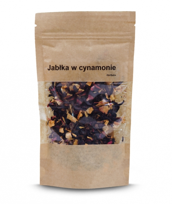 Herbata jabłka w cynamonie 50g - herbata owocowa Vivio