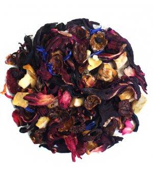 Herbata jabłkowo-migdałowe marzenie 50g - herbata owocowa Vivio