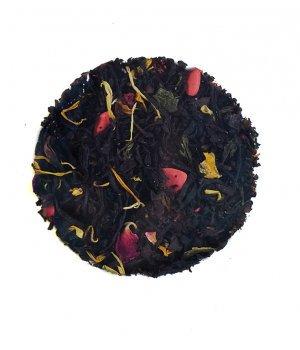 Herbata miłosny uśmiech 50g VIVIO, mieszanka czarnej i zielonej herbaty, właściwości