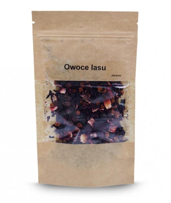 Herbata owoce lasu owocowa o wyśmienitym smaku 50g - Vivio